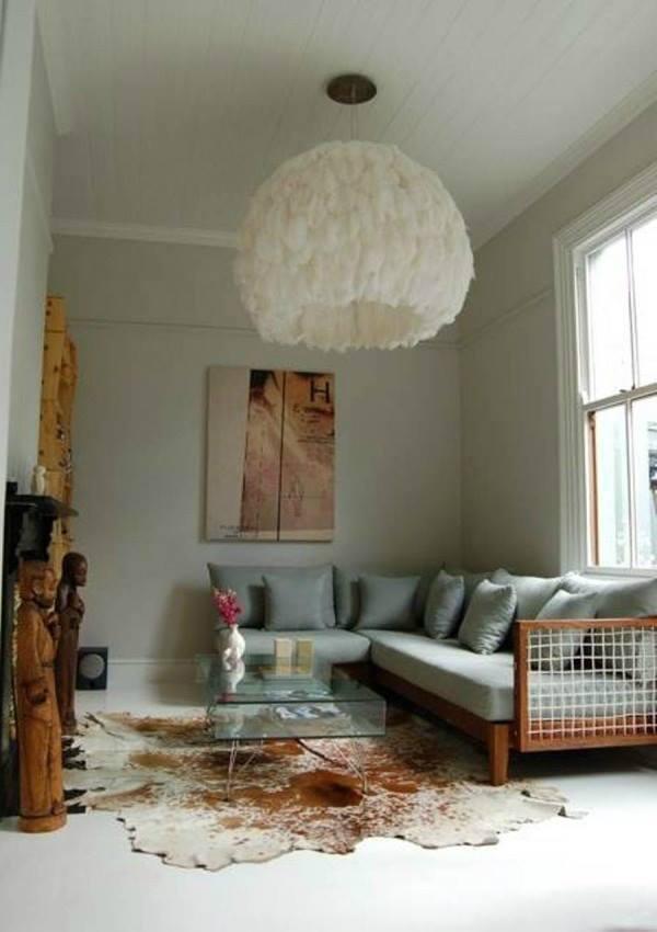 غرف معيشة صغيرة المساحة