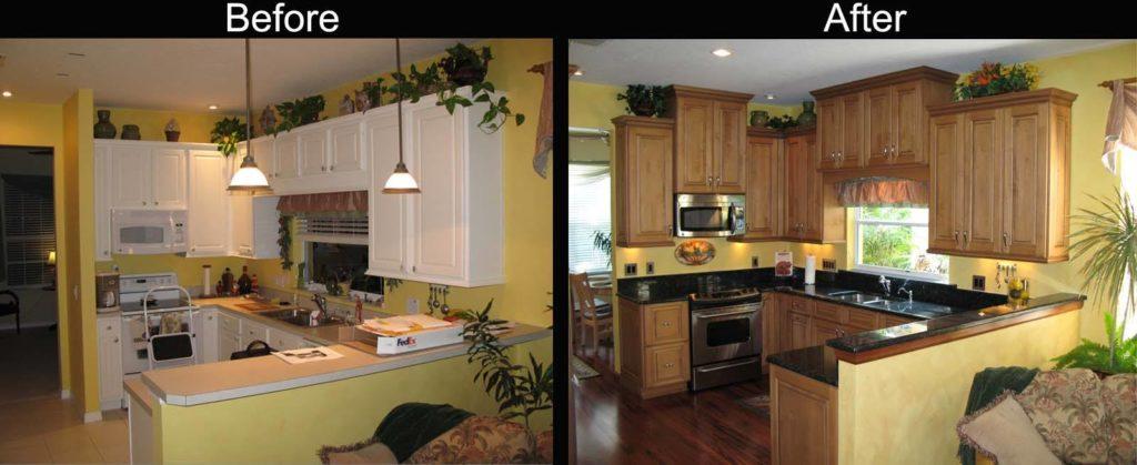 تجديد المطبخ القديم
