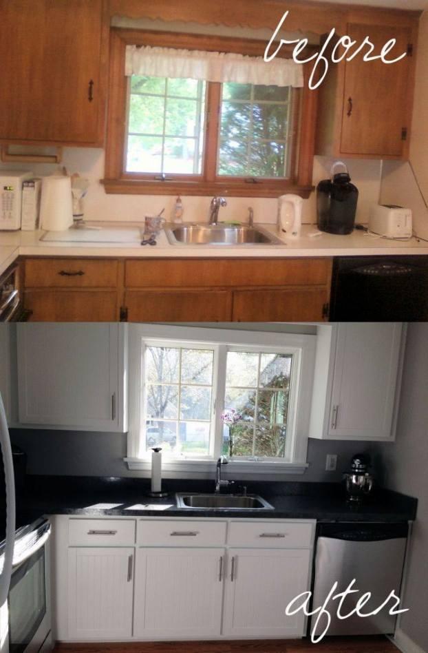 تجليد المطبخ القديم