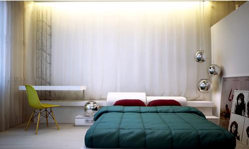ديكورات غرفة نوم صغيرة 1