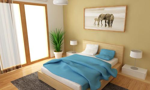 ديكورات غرف نوم صغيرة 2