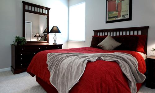 ديكورات غرف نوم صغيرة 5
