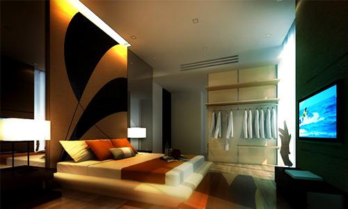 ديكورات غرف نوم صغيرة 6