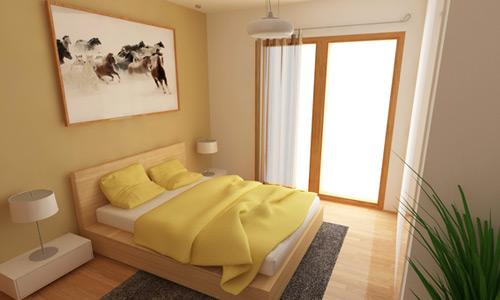 ديكورات غرف نوم صغيرة 7