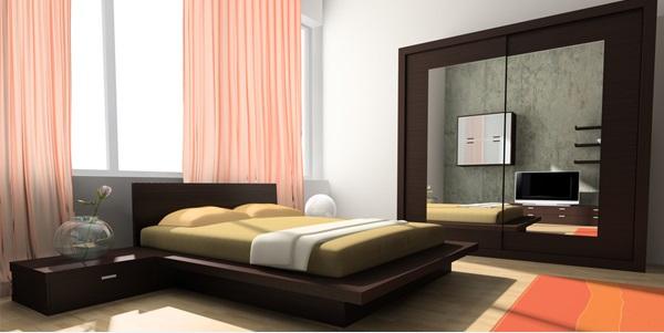 ديكور غرف نوم صغيرة 5