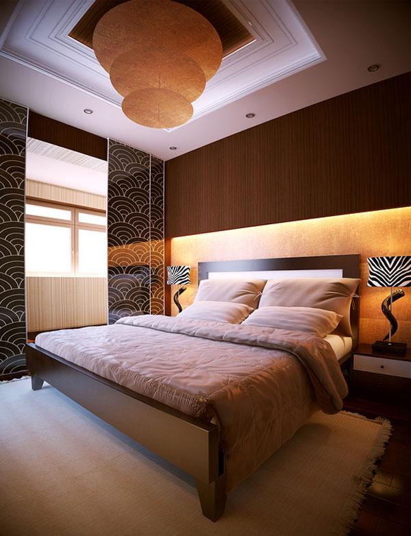غرفة نوم مودرن كاملة 1