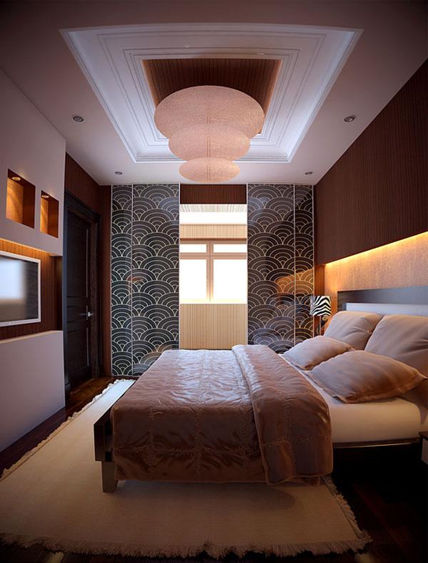 غرفة نوم مودرن كاملة
