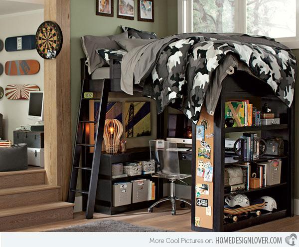 غرف نوم للاولاد 1
