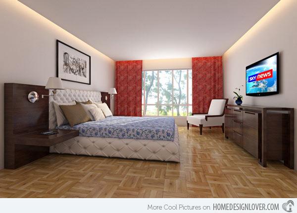 غرف نوم للبنات بأشكال بسيطة