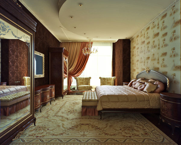 غرف نوم مودرن كاملة 2