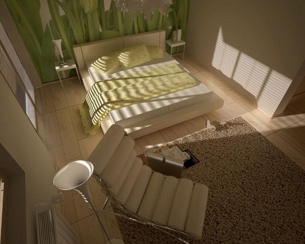 ورق جدران غرف نوم مودرن كاملة 2