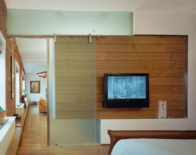 تصاميم ابواب زجاج غرف نوم سحب