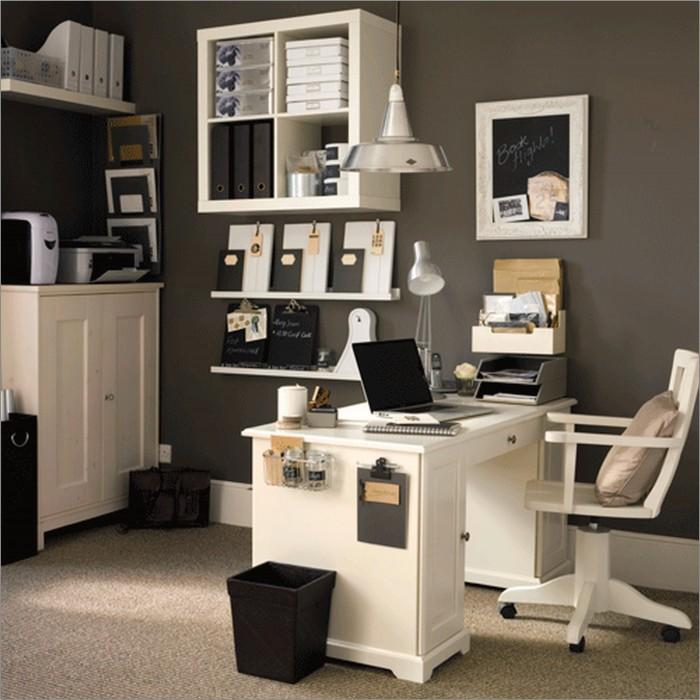 ديكور لغرف مكتب منزلي