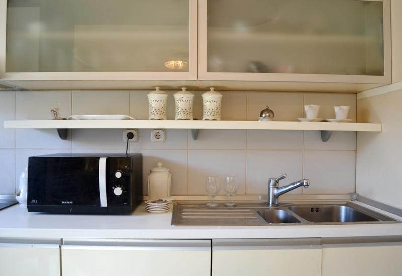 مطبخ لديكورات الشقق