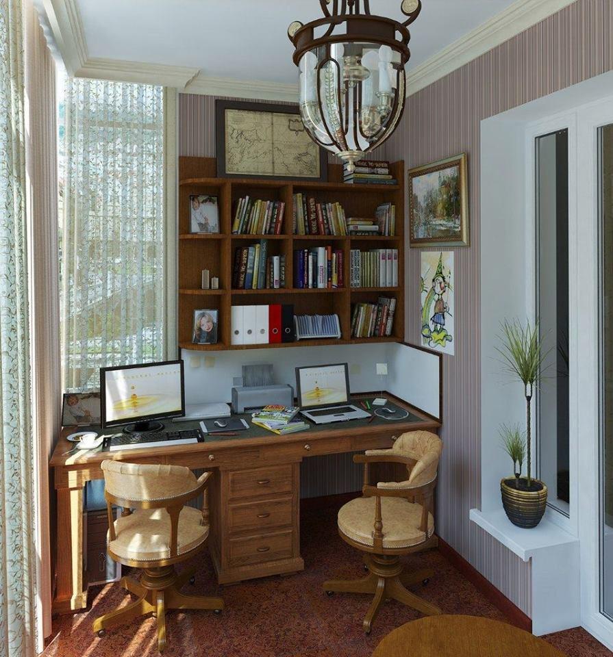 ديكور مكتب منزلي