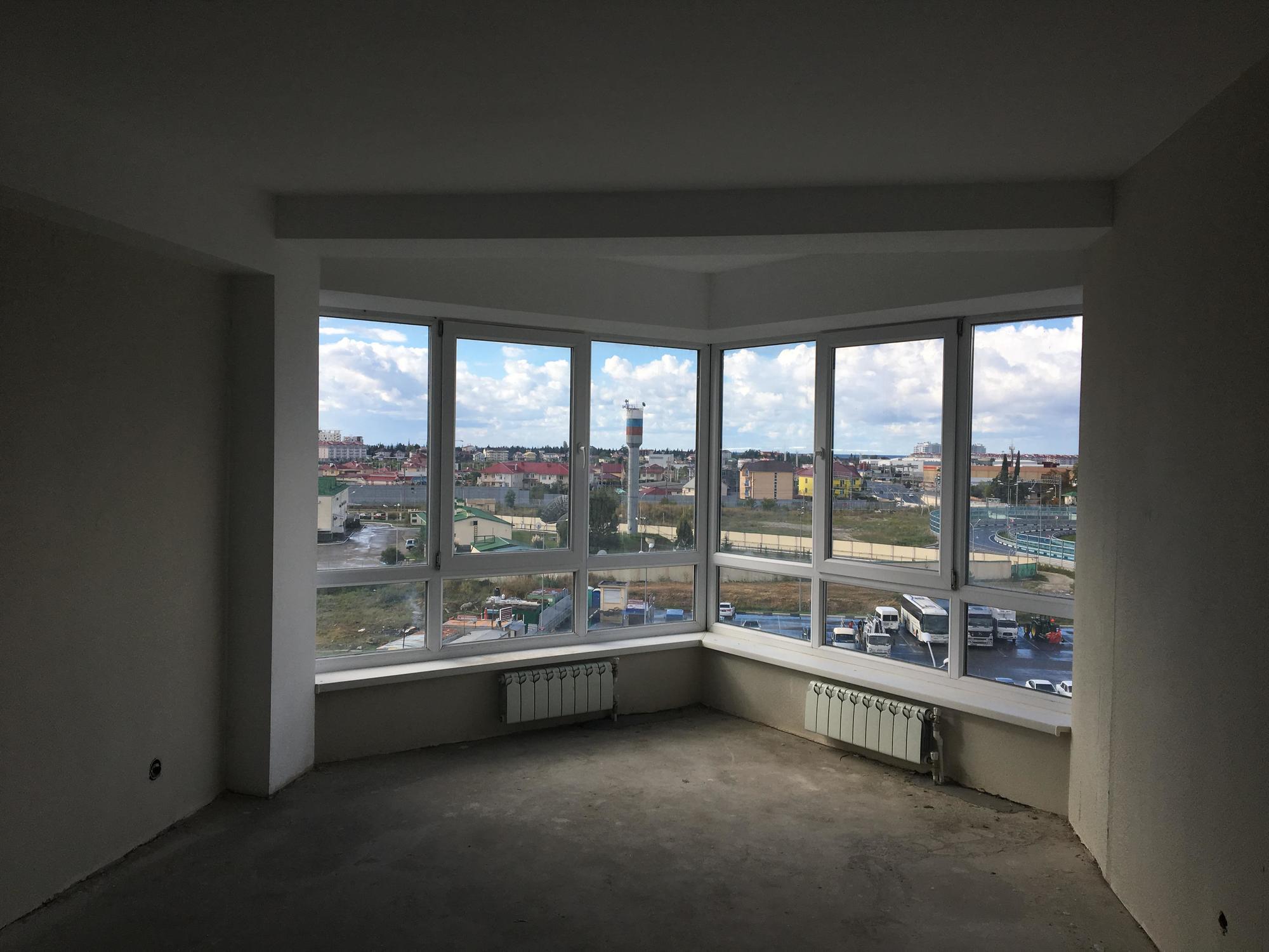 نوافذ للمنازل كبيرة
