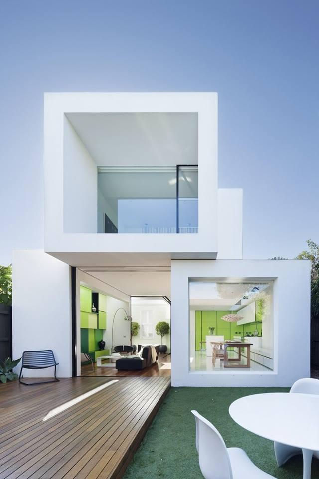 تصاميم لواجهات منازل حديثة