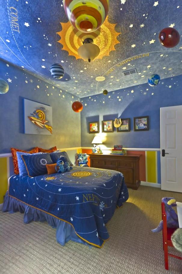 أجمل ديكور لغرف النوم للأطفال