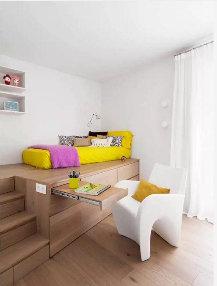ديكور غرف نوم للمساحة الصغيرة