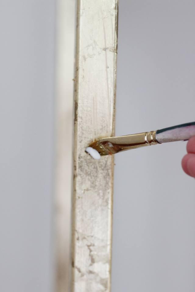 تزيين أثاث منزلك بالأوراق الذهبية