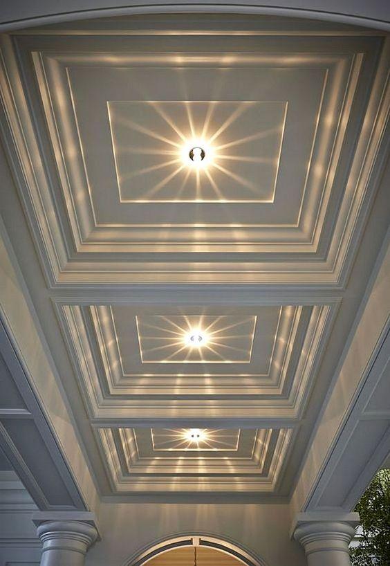 ديكورات اسقف جبس بسيطة