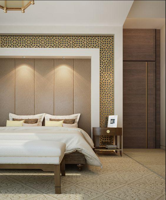 ديكورات جبس غرف نوم ناعمه رومانسية عصرية عرب ديكور