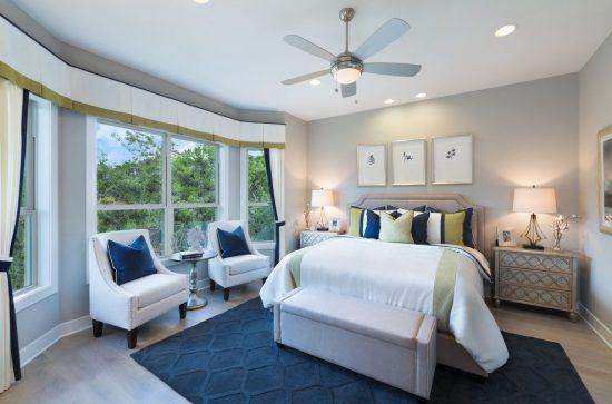 أفكار لديكور سقف غرفة النوم 1