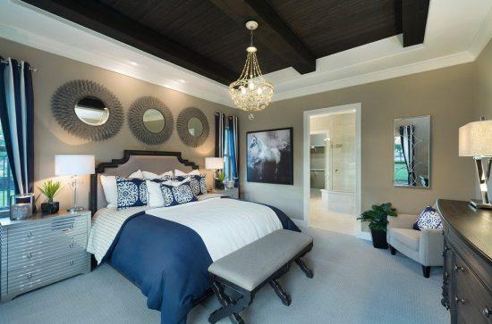 أفكار لديكور سقف غرفة النوم