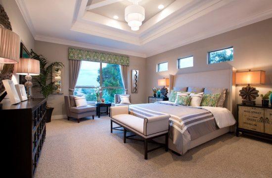 ديكورات اسقف لغرف النوم 3