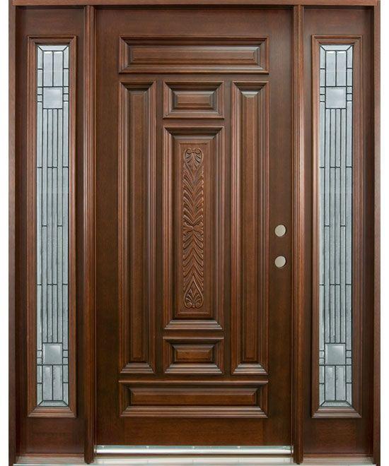 موديلات أبواب خشب رئيسية