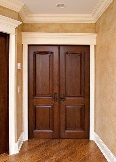 موديلات أبواب خشب 7