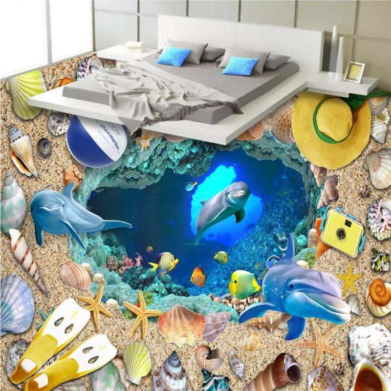ارضيات 3D لغرف النوم