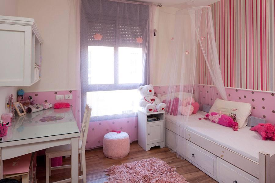 ستائر لغرف النوم المخصصة للبنات