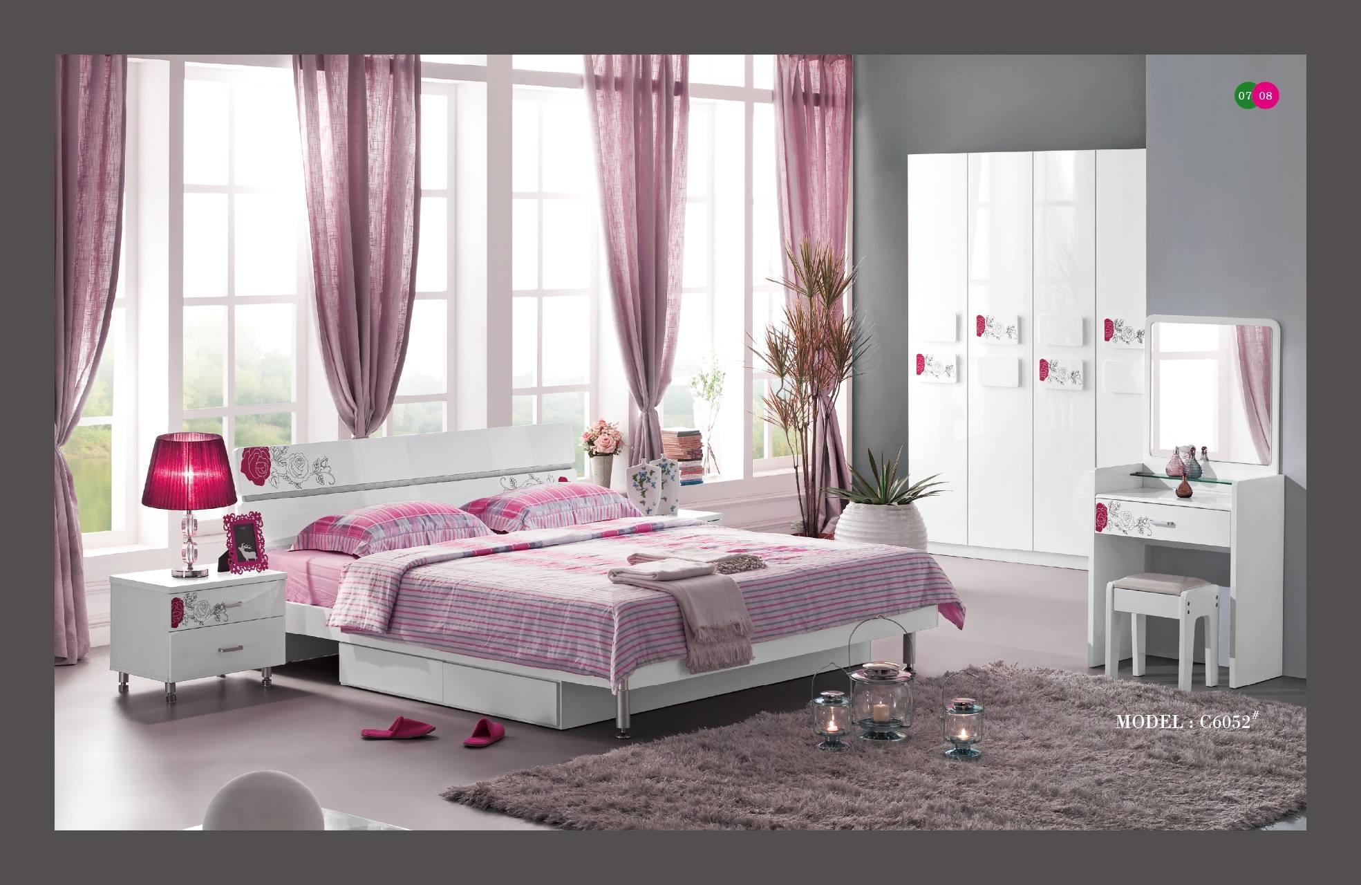 الوان ديكورات غرف النوم (1)
