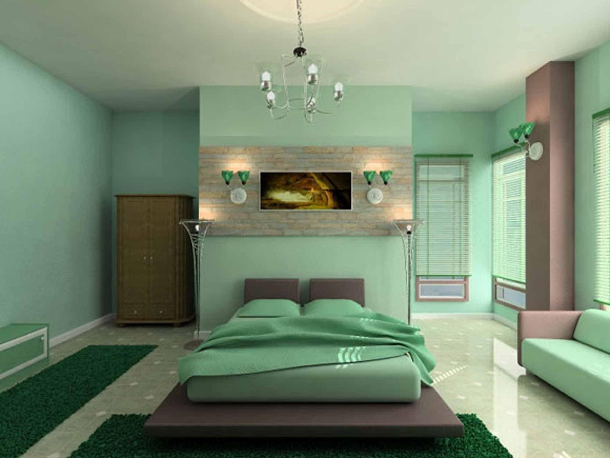 الوان ديكورات غرف النوم (3)