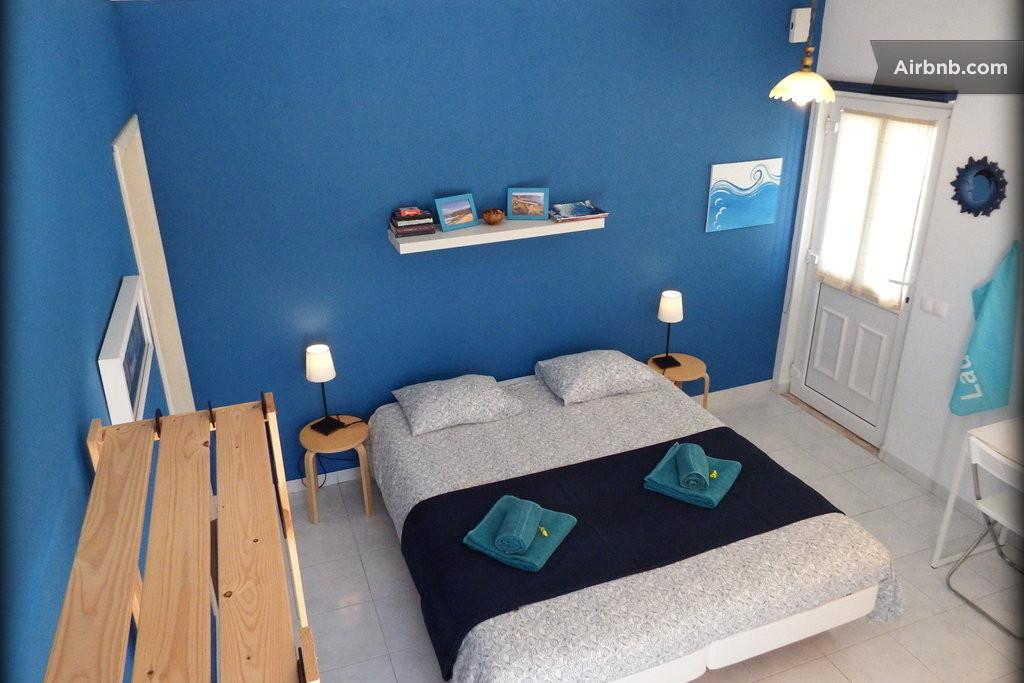 الوان طلاء غرف النوم ازرق