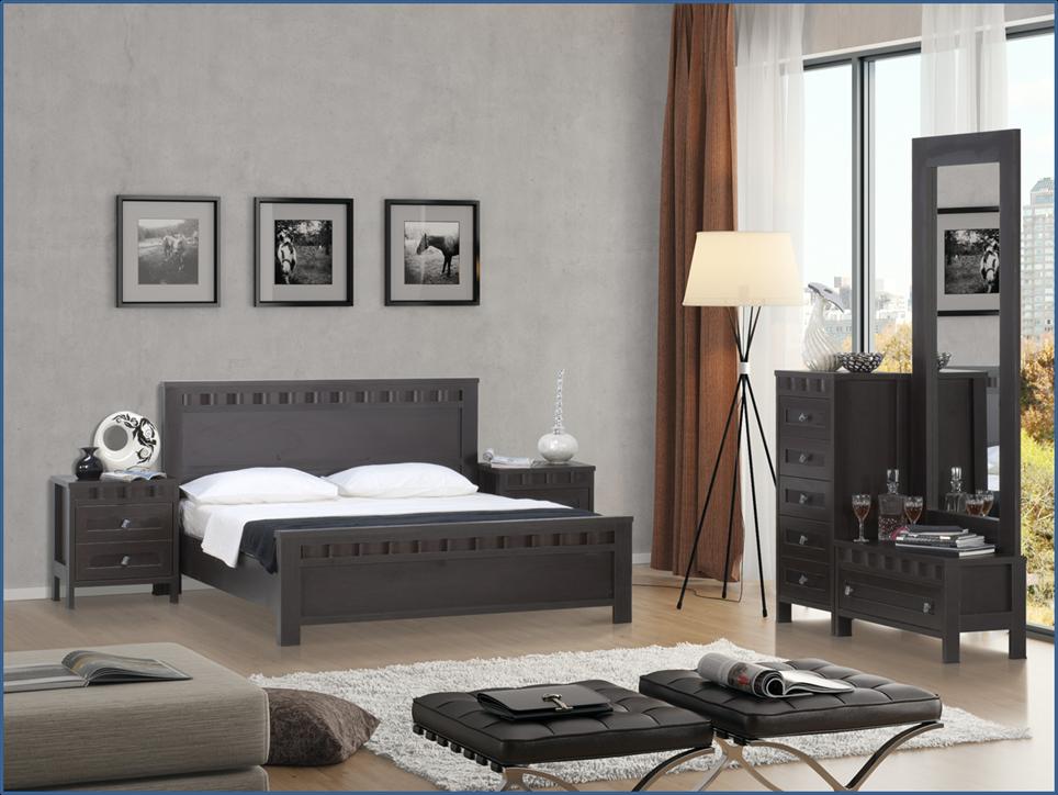 ألوان لطلاء غرف النوم رمادي