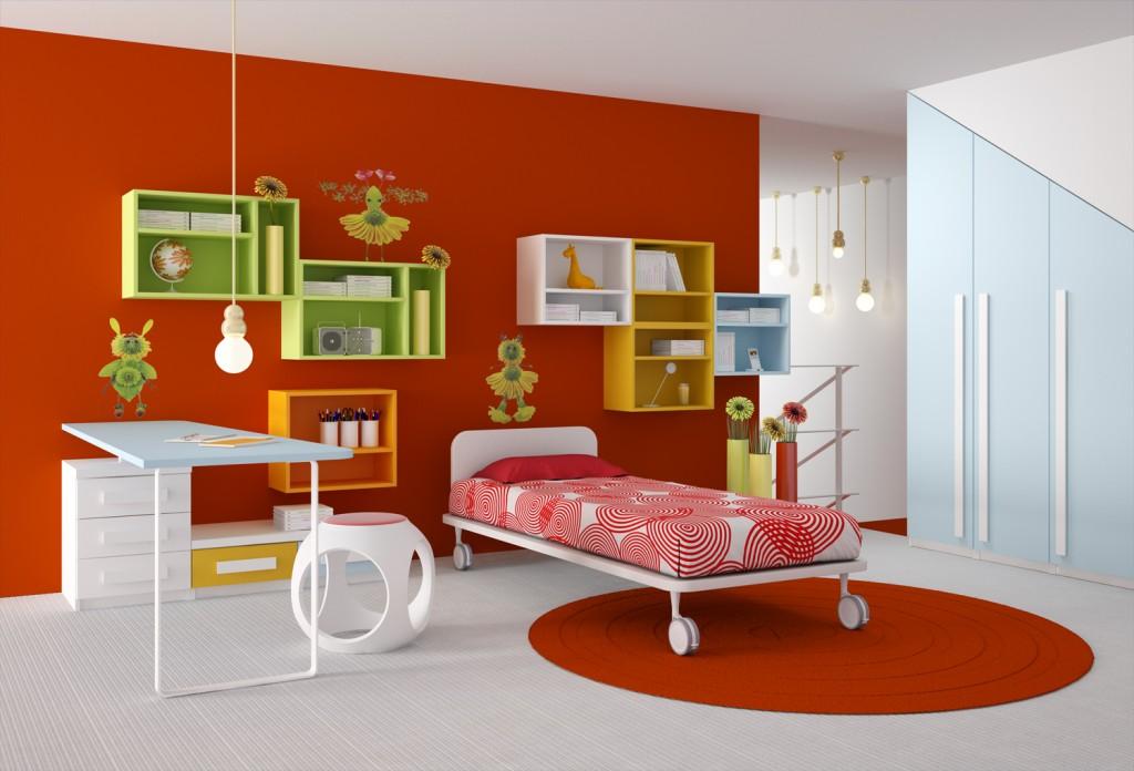 طلاء لغرف نوم للاطفال