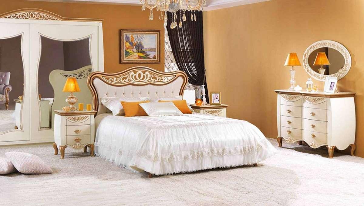 دهانات غرف نوم باللون البرتقالي
