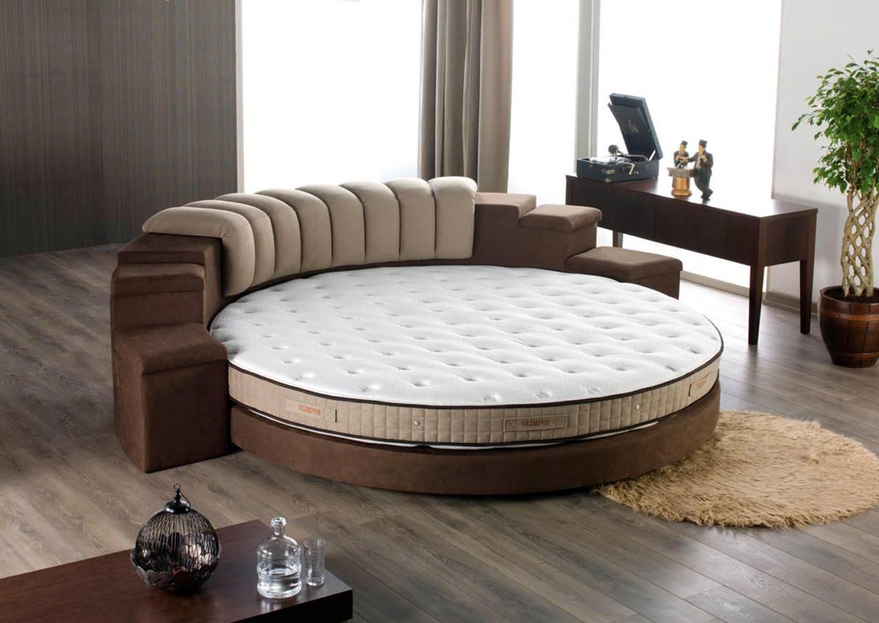 ديكورات غرف النوم الدائرية