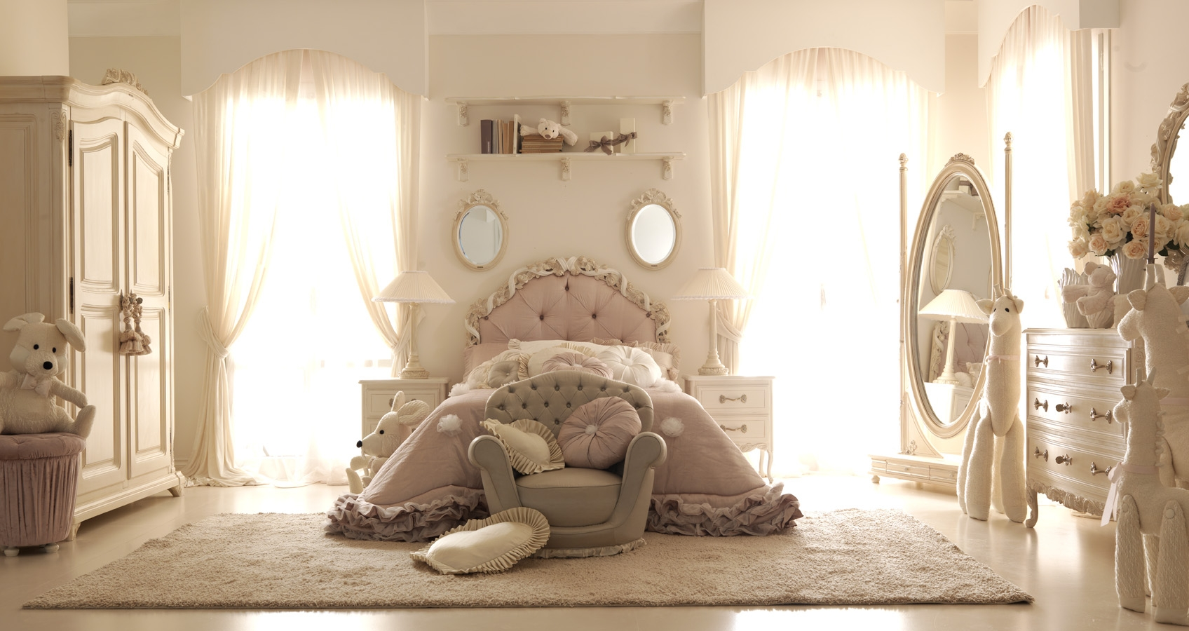 ديكورات غرف نوم كلاسيك (5)