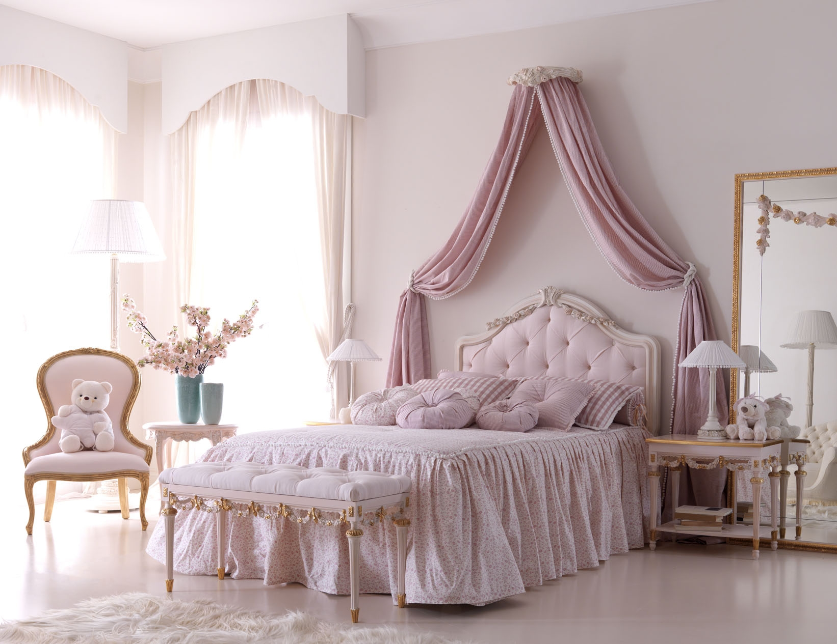 ديكورات غرف نوم كلاسيك (4)