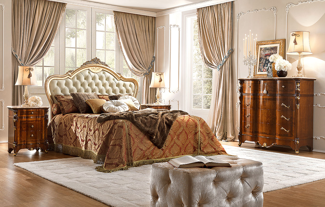 ديكورات غرف نوم كلاسيك (6)