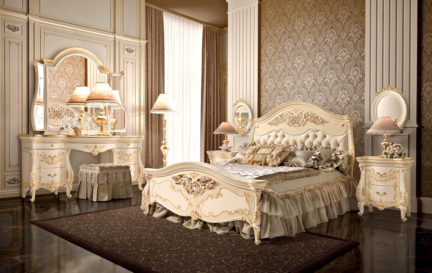ديكورات غرف نوم كلاسيك (7)