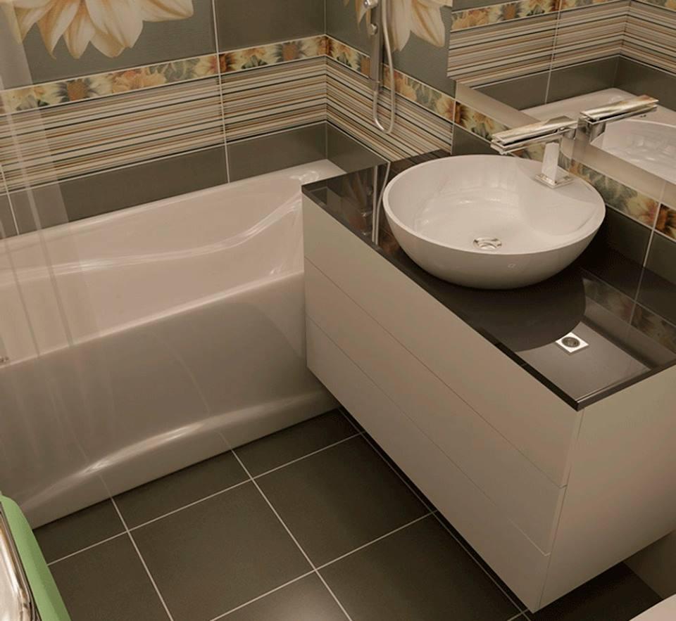 سيراميك حمامات صغيرة