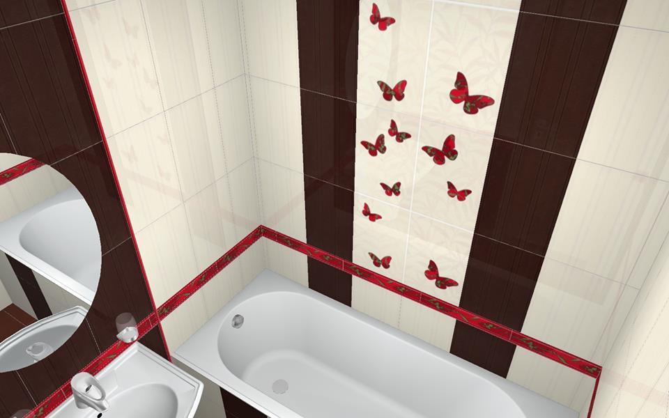 سيراميك حمامات صغيرة المساحة