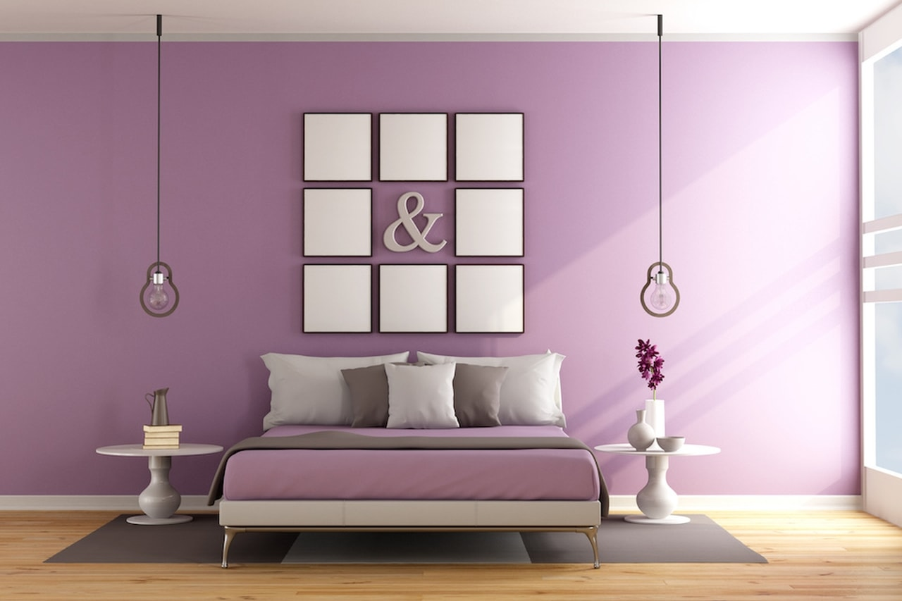 ألوان طلاء غرفة النوم