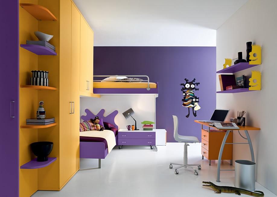 طلاء غرف نوم للاطفال