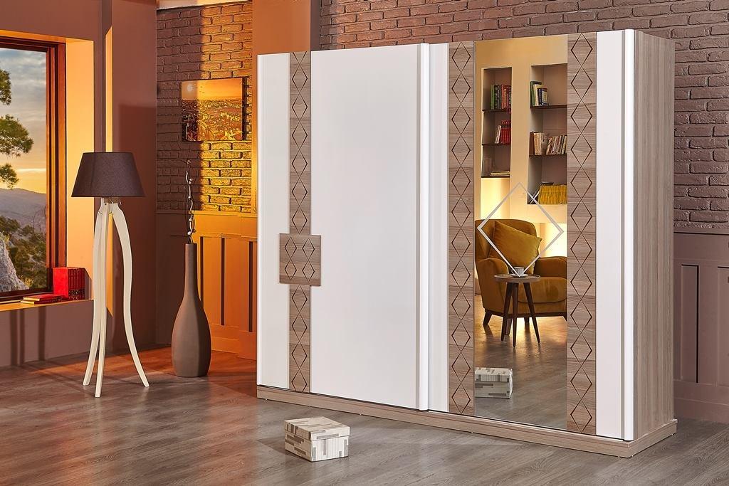 غرف نوم مودرن جرار ايطالي كاملة بتصاميم فخمة وجميلة عرب ديكور