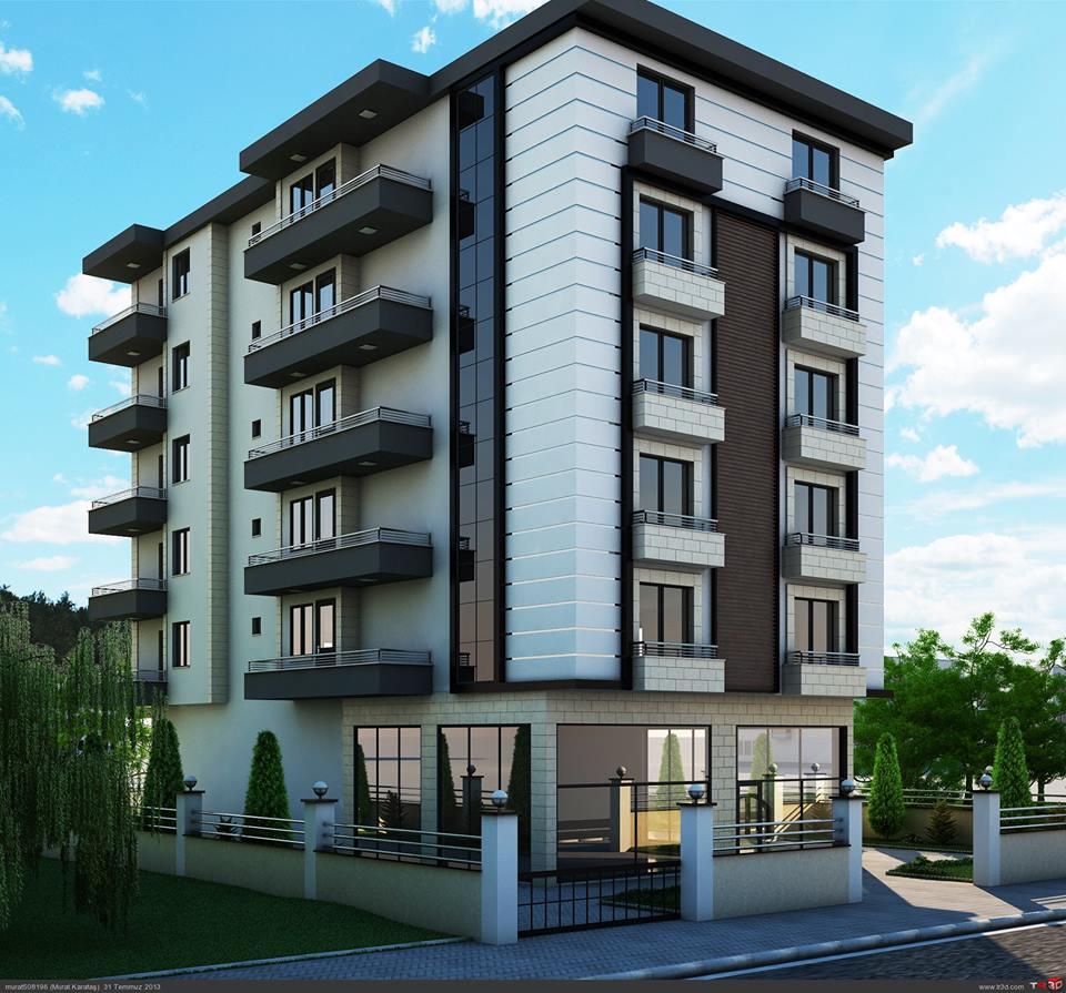 واجهات عمائر سكنية روعة حديثة من الخارج بأشكال مميزة وعصرية عرب ديكور